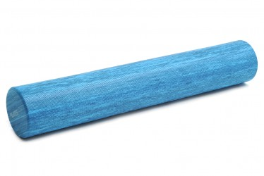 Pilates roll, blue (two colors) blue marble (90 cm)
