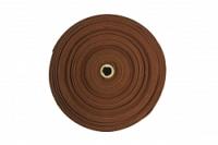 Yogamatte basic - Rolle 30m choco braun