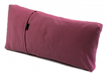TriYoga cushion, small burgundy