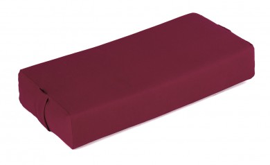 TriYoga bolster, large bordeaux
