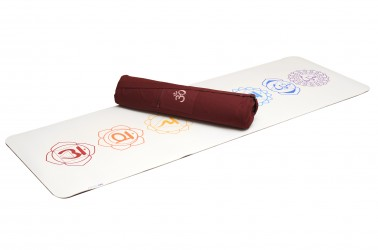 Yoga-Set - comfort - art collection chakra white/red
