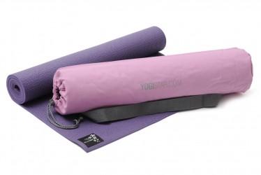 Yoga-Set Starter Edition (Yogamatte + Yogatasche) aubergine