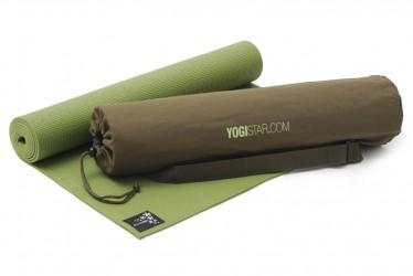 Yoga-Set Starter Edition (Yoga mat + yoga bag) kiwi