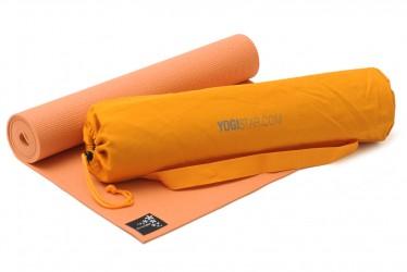 Yoga-Set Starter Edition (Yogamatte + Yogatasche) mango