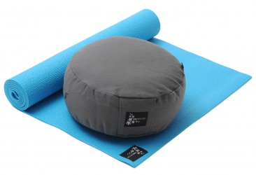 Yoga-Set Starter Edition - Meditation (Yoga mat + Cushion) turquoise