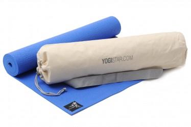 Yoga-Set Starter Edition (Yogamatte + Yogatasche) marine