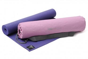 Yoga-Set Starter Edition (Yogamatte + Yogatasche) violet
