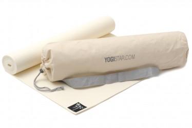 Yoga-Set Starter Edition (Yogamatte + Yogatasche) white