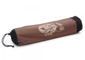 Yogatasche yogibag® basic - cotton - art collection - 65 cm ganesha - brown
