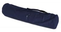 Yoga carrybag basic - zip - extra big - cotton - 109 cm dark blue