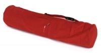 Yoga carrybag basic - zip - extra big - cotton - 109 cm red