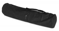 Yoga carrybag basic - zip - extra big - cotton - 109 cm black