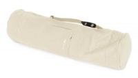 Yogatasche yogibag® basic - zip - extra big - cotton - 80 cm offwhite