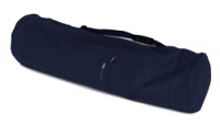 Yogatasche basic - zip - extra big - cotton - 80 cm navy