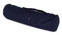 Yogatasche yogibag® basic - zip - extra big - cotton - 80 cm navy