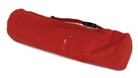 Yogatasche basic - zip - extra big - cotton - 80 cm red