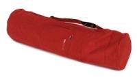 Yogatasche yogibag® basic - zip - extra big - cotton - 80 cm red