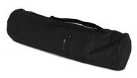 Yogatasche basic - zip - extra big - cotton - 80 cm black