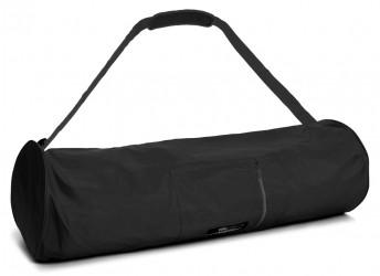 Yoga carrybag basic - zip - extra big - nylon - 80 cm black