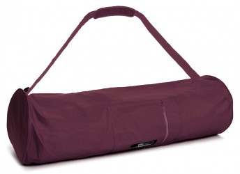 Yogatasche basic - zip - extra big - nylon - 80 cm bordeaux
