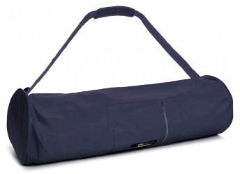 Yoga carrybag basic - zip - extra big - nylon - 80 cm navy