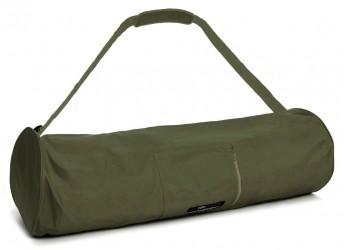 Yoga carrybag basic - zip - extra big - nylon - 80 cm olive
