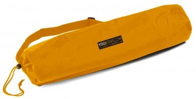 Yoga carrybag basic - nylon - 65 cm safran