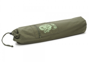 Yogatasche yogibag® basic - cotton - art collection - 65 cm ganesha - olive