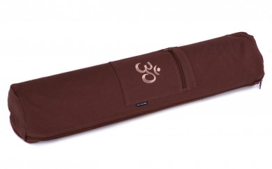 Funda yogibag basic zip art collection - algodón OM choco