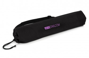 Yogatasche basic - cotton - 65 cm black