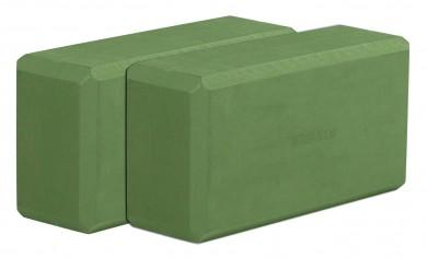 Yogablock - yogiblock basic 2-er Set kiwi (Formamid-frei)