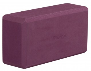 Yoga block - yogiblock 'Basic' bordeaux (Formamid-free)
