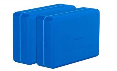Yogablock - yogiblock big set of 2 blue