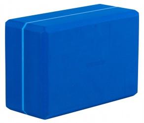 Yoga block - yogiblock 'super size' blue
