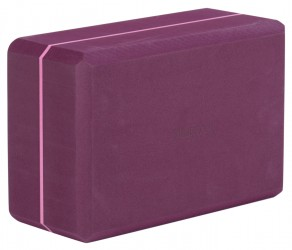 Bloque de yoga - yogiblock super size bordeaux