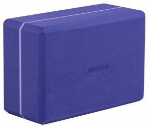 Yoga block - yogiblock 'super size' violet