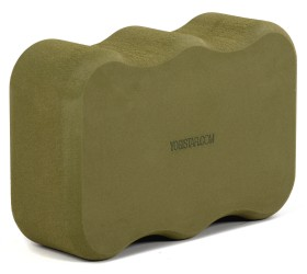 Yoga block - yogiblock 'Wave' olive