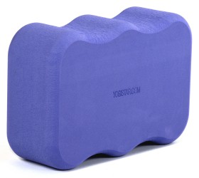 Yoga block - yogiblock 'Wave' violet