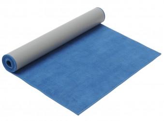 Yogamatte hot yoga blue