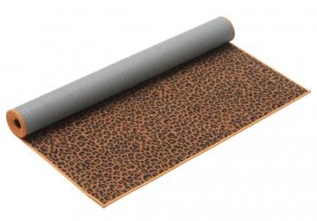 Yoga mat hot yoga wild Leopard Print, 182cm x 61cm x 1,5mm