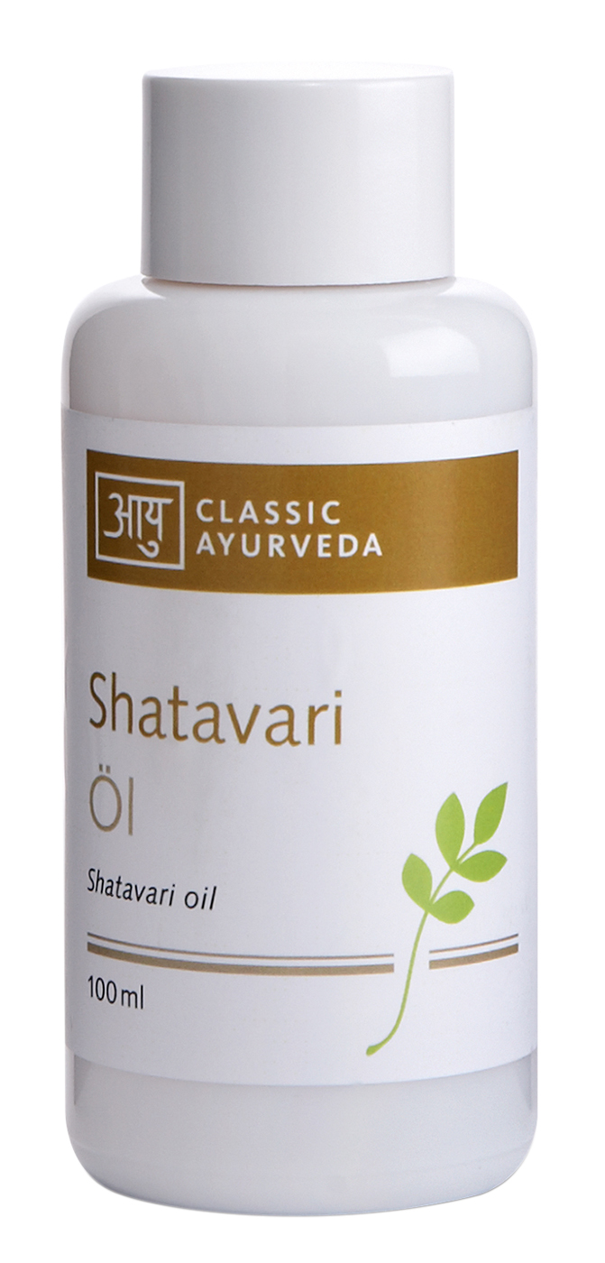 Bio Shatavari Massageöl, 100 ml