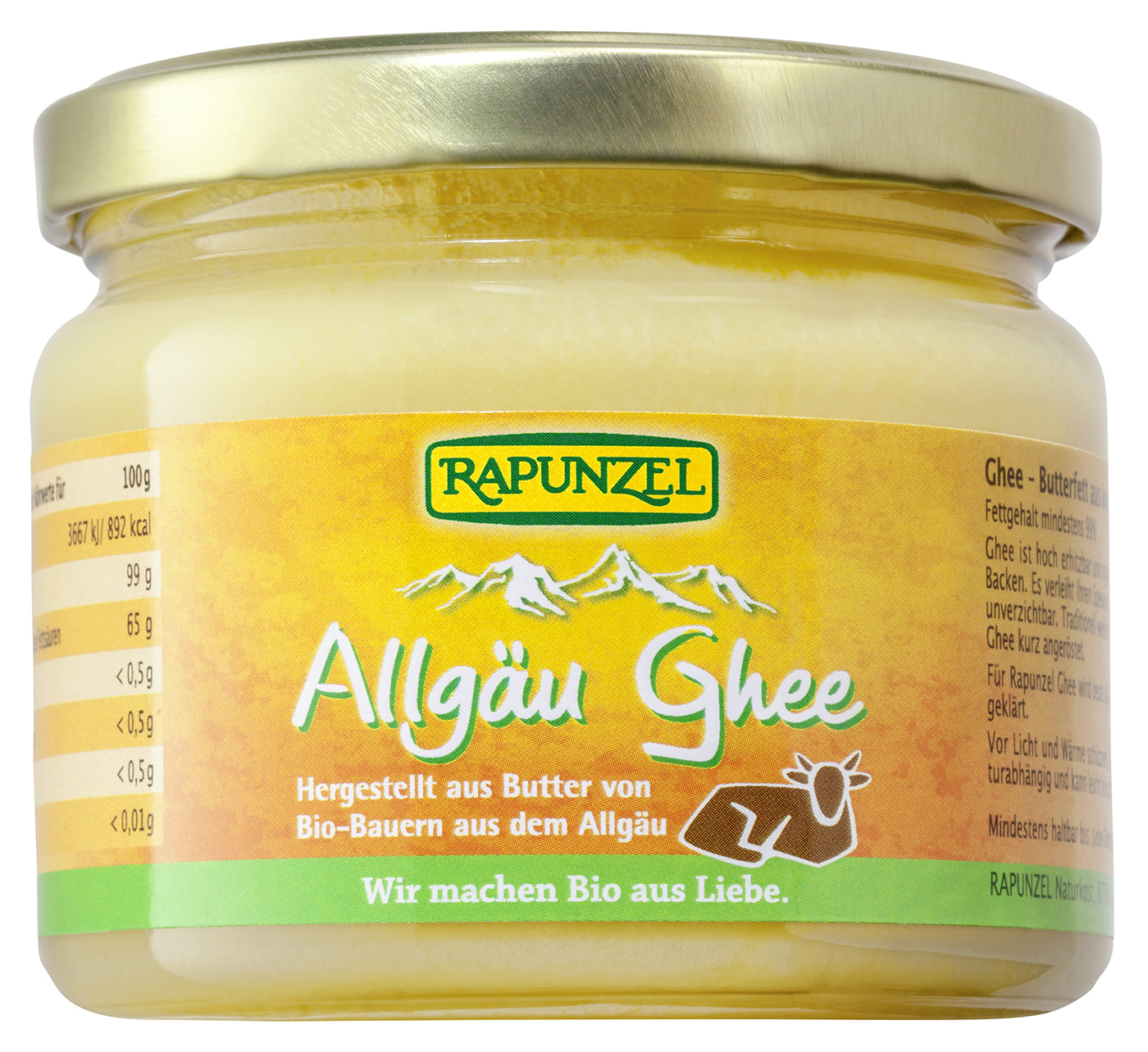 Bio Allgäu Ghee, 250 g