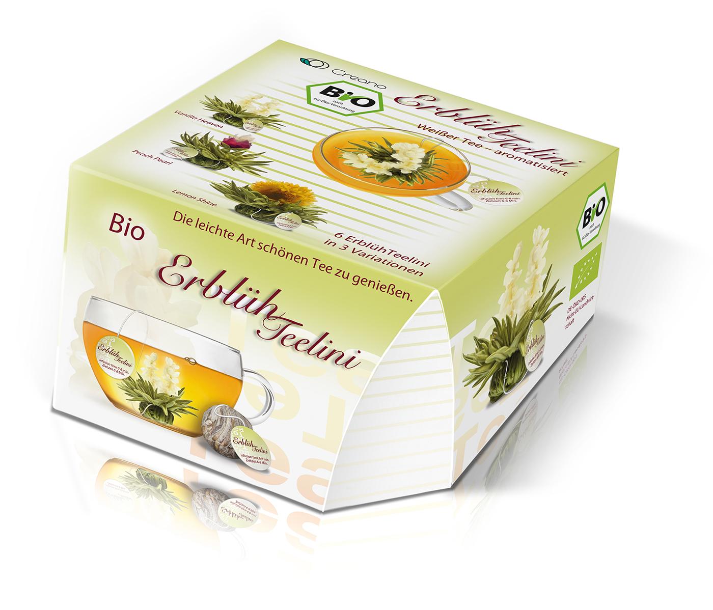 Erblüh-Teelini BIO, weißer Tee