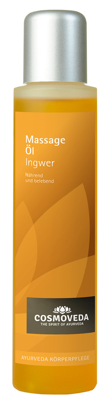 Massageöl Ingwer, 100 ml