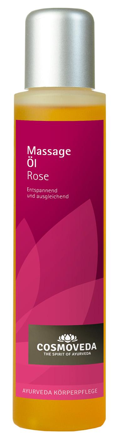 Massageöl Rose, 100 ml