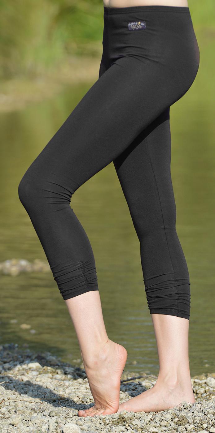 Legging 7/8-lang - schwarz