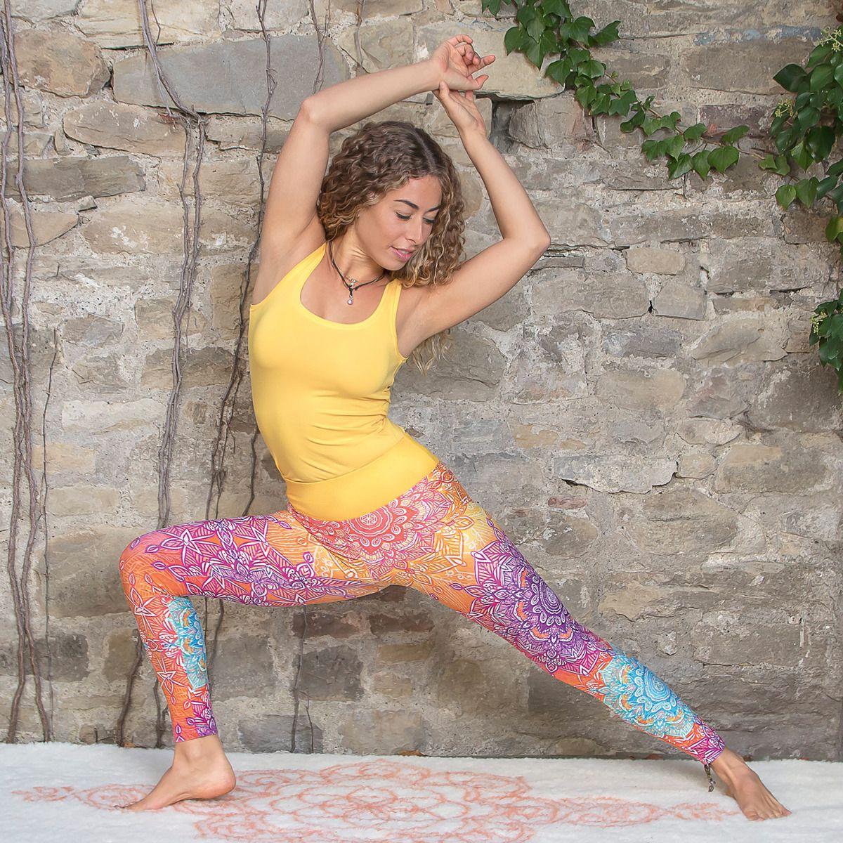 Yoga Leggings - rainbow