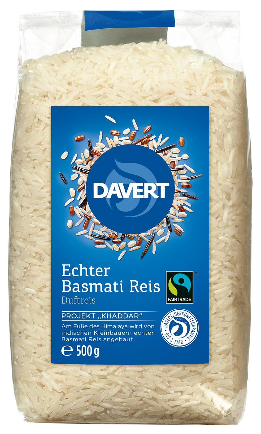 Bio Echter Basmati Reis, weiß 500g