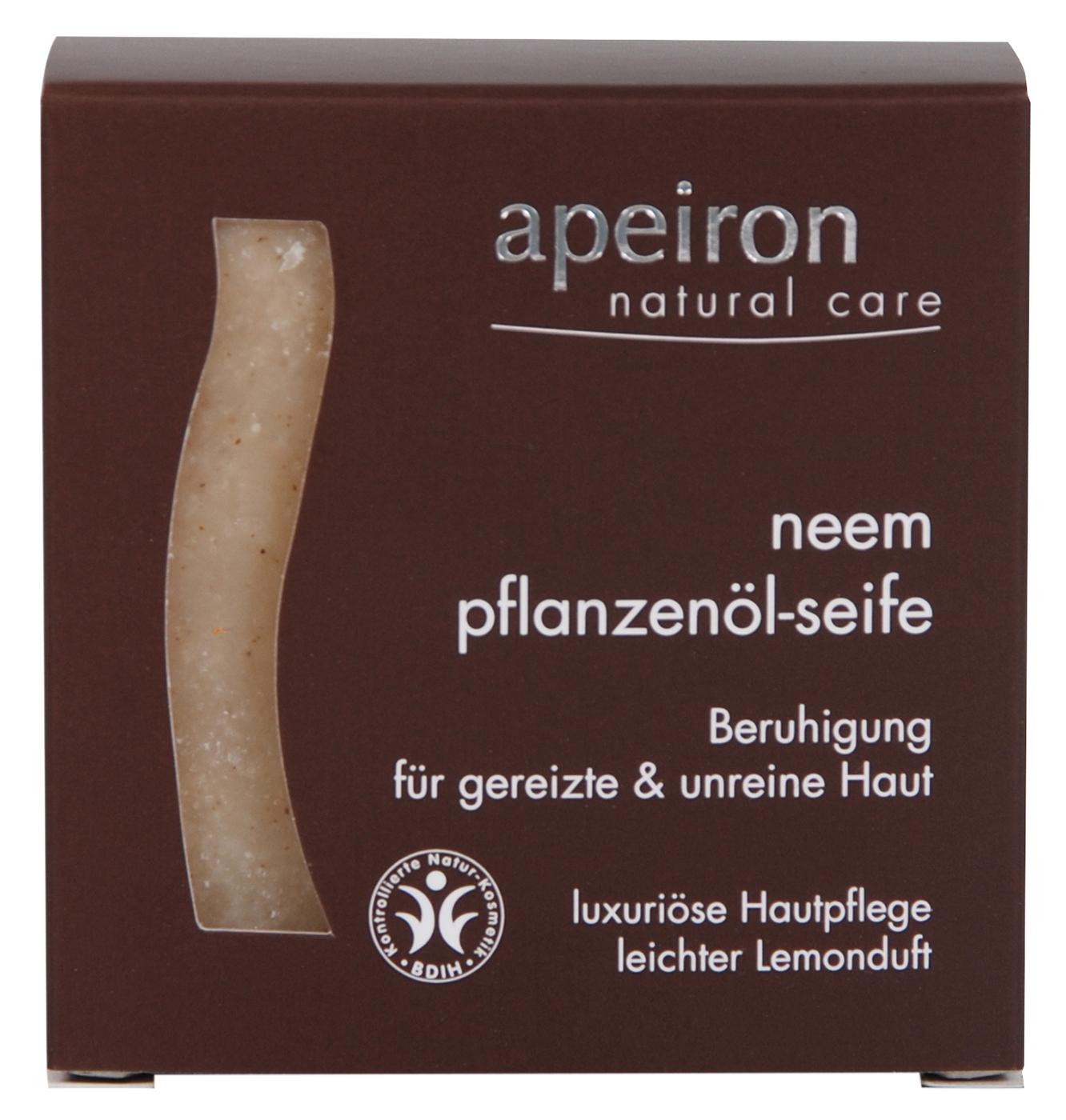 Neem - ayurvedische Pflanzenölseife, 100 g