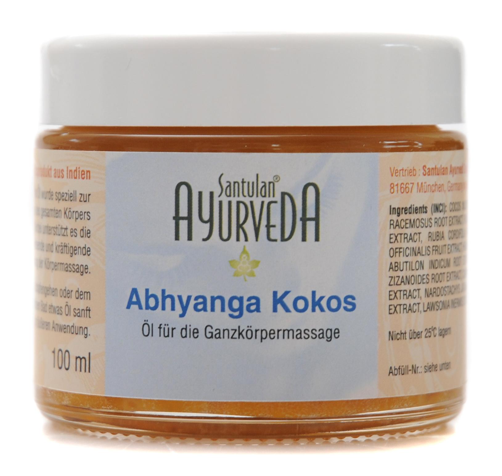 Abhyanga Kokosnussöl, 100 ml